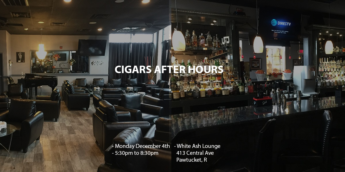 Cigars After Hours December Business Networking at White Ash Lounge